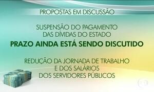 Governos Federal e estadual discutem crise financeira do Rio de Janeiro