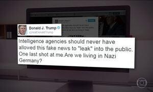 Trump fala a primeira vez aos jornalistas desde às eleições