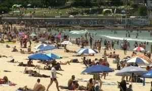 Austrália registra onda de calor com previsão de 46ºC à sombra