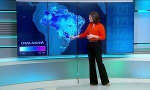 Confira a previsão do tempo para o sábado (14)