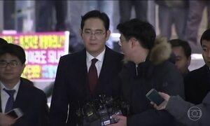 Promotoria sul-coreana pede a prisão do vice-presidente da Samsung