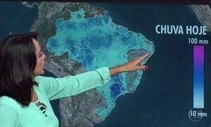 Previsão é de mais chuva no Nordeste