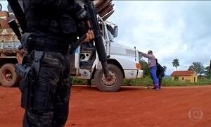 Ocupação de garimpeiros no MT gera tensão na fronteira com a Bolívia