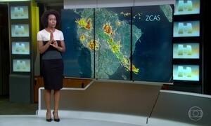 Chuva continua em São Paulo