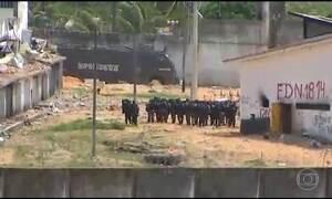 Situação em presídio em Alcaçuz, no RN, ainda não está controlada