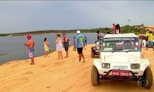 Lagoinha, no litoral do Ceará, reúne diversão e beleza; conheça