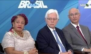Três novos ministros tomam posse em Brasília