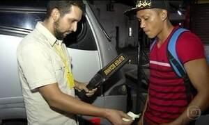 Ônibus de Belém usam detectores de metal para prevenir assaltos