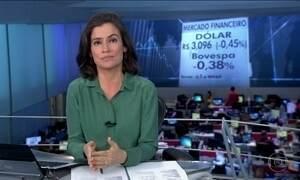 Dólar fecha abaixo dos R$ 3,10 pela primeira vez em 18 meses