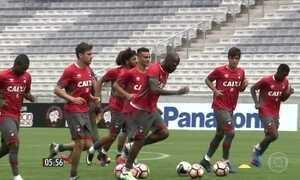 Botafogo e Atlético Paranaense jogam pela Libertadores da América
