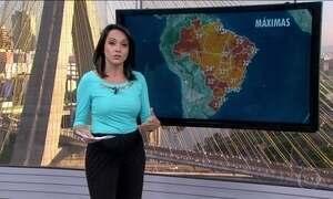 Veja da previsão do tempo em todo Brasil