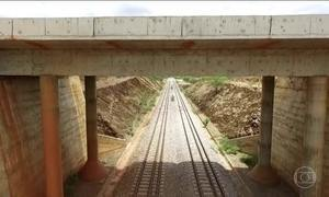 Moradores reclamam de prejuízos causados por construção Ferrovia Transnordestina