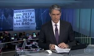Investimentos estrangeiros no Brasil são recorde para janeiro