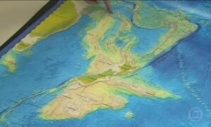 Equipe de geólogos afirma ter descoberto um oitavo continente