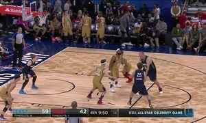 Oscar Schmidt faz a primeira partida na liga profissional de basquete dos EUA