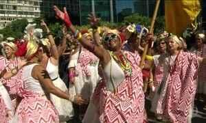 Carnaval antecipado no Rio tem sotaque baiano e até sertanejo
