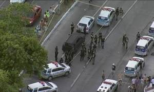 Bandidos atacam empresa de transporte de valores no Recife
