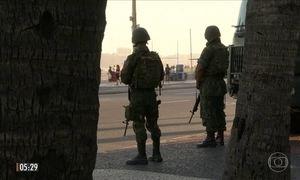 Governo federal irá retirar tropas das Forças Armadas do Rio de Janeiro