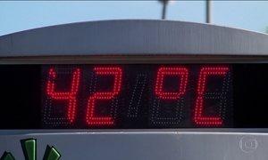 Sul do país registra temperatura acima dos 40 graus
