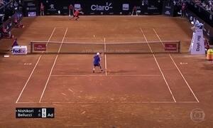 Thomaz Bellucci vence japonês Kei Nishikori no Rio Open de Tênis