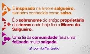 Salgueiro é uma das maiores escolas de samba do Rio, mas por que tem esse nome?