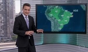 Veja a previsão do tempo para esta quarta-feira (1) em todo o Brasil