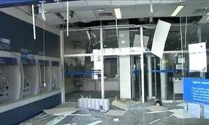 Quadrilha explode banco para realizar assalto no interior de São Paulo