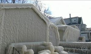 Nevasca na costa leste preocupa os EUA