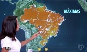 Confira a previsão do tempo para a quinta-feira (16)