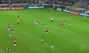 Palmeiras sofre para vencer o Jorge Wilstermann pela Copa Libertadores