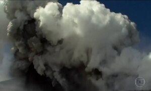Erupção do Etna, vulcão mais ativo da Europa, fere 10 pessoas