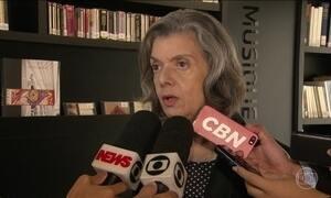 Cármen Lúcia diz que não há possibilidade do Judiciário aceitar anistia ao Caixa 2