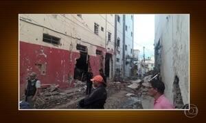 Quadrilha explode agência bancária em Irecê, na Bahia
