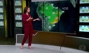 Veja a previsão do tempo para quinta-feira (23)