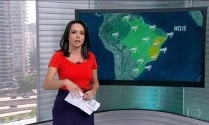 Veja a previsão do tempo para todo o Brasil nesta sexta-feira (24)