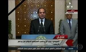Egito declara estado de emergência depois de ataques do Estado Islâmico