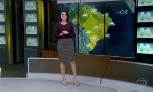 Veja a previsão do tempo para essa sexta-feira (14)
