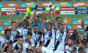 Vasco vence Botafogo e conquista título da Taça Rio