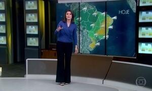 Veja a previsão do tempo para essa segunda-feira (17)