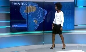 Confira a previsão do tempo para a terça-feira (18) em todo o país