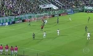 Chapecoense fica no empate com o Nacional do Uruguai na Libertadores