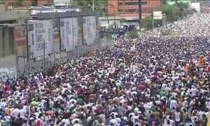 Oposição na Venezuela anuncia novos protestos para pedir eleições