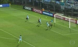 Grêmio e Botafogo empatam fora de casa pela Taça Libertadores