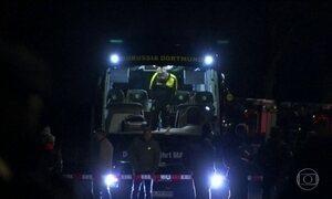 Polícia alemã prende suspeito do ataque a ônibus do Borussia Dortmund