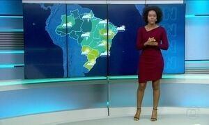 Confira a previsão do tempo para o sábado (22) no país
