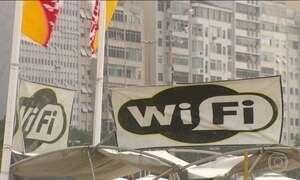 Wi-Fi não funciona em locais públicos do RJ e decepciona moradores e turistas