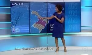 Confira a previsão do tempo para a terça-feira (25) em todo o Brasil