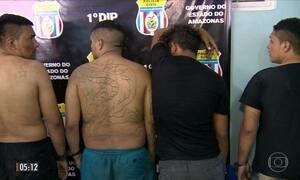 Presos fogem de cadeia em Manaus (AM)