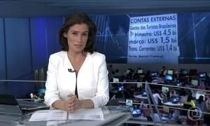 Brasileiros gastam US$ 4,5 bi no exterior no primeiro trimestre