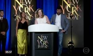 Rede Globo vence em seis categorias no Festival de Filme e Televisão nos EUA